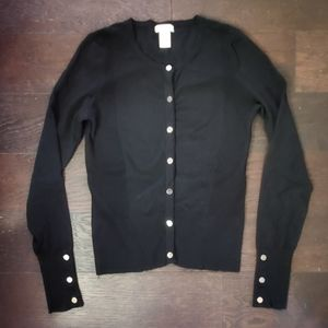 Cache Snap Button Front Cardigan